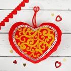 Мягкая игрушка-присоска «Сердце»