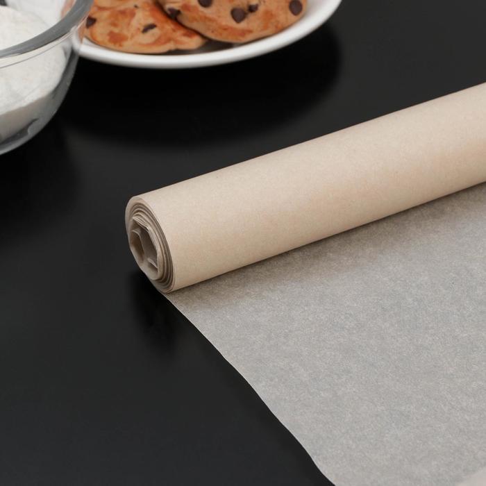 Бумага для выпечки Доляна, 38 см × 8 м