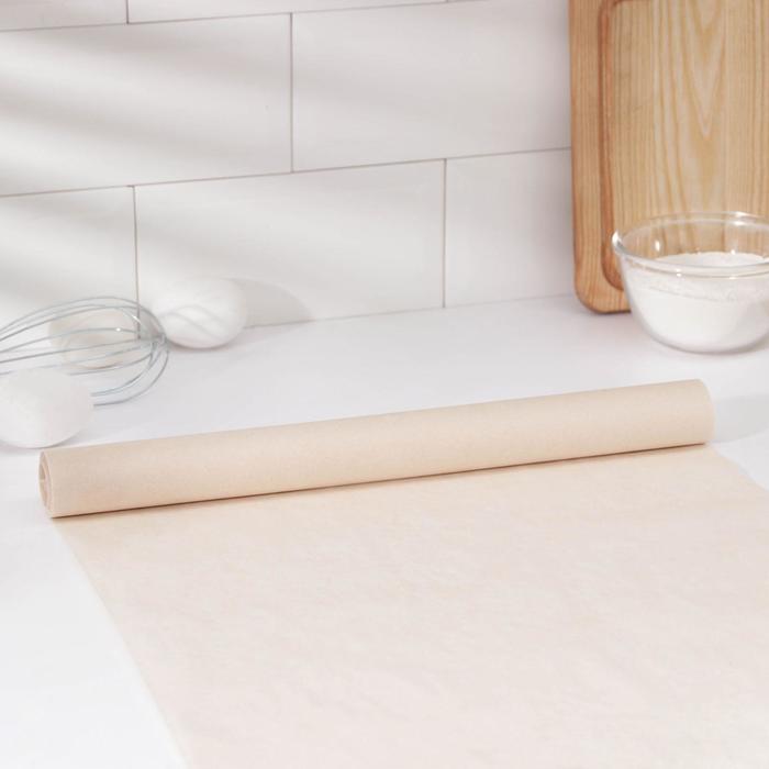Бумага для выпечки Доляна, 38 см × 8 м, в термоусадке