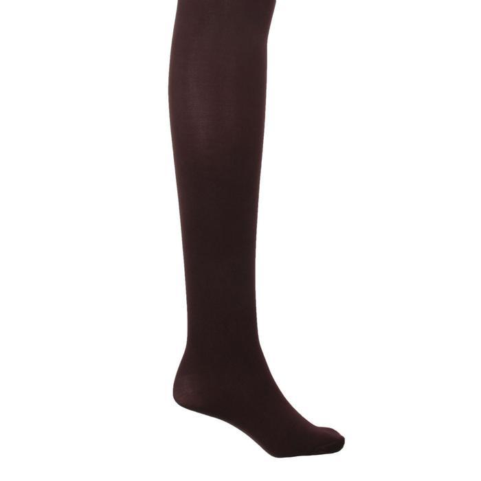 Колготки женские MALEMI Micro Velour 70 den, цвет тёмный загар (chocolate), размер 4