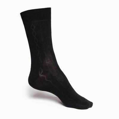 Носки мужские INCANTO, цвет чёрный (nero), размер 2 (40-41)