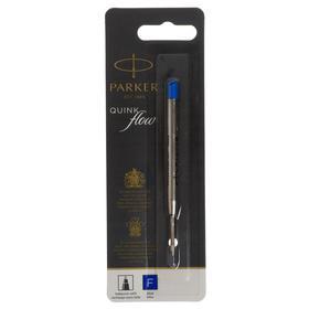 Стержень для шариковых ручек Parker QuinkFlow Premium, туба F, синие чернила (S0909420,1950368)