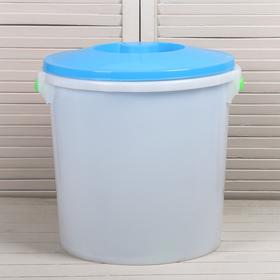 Бак пищевой, 45 л, с крышкой, цвет МИКС