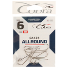 Крючки Cobra ALLROUND серия CA124 №6, 10 шт.
