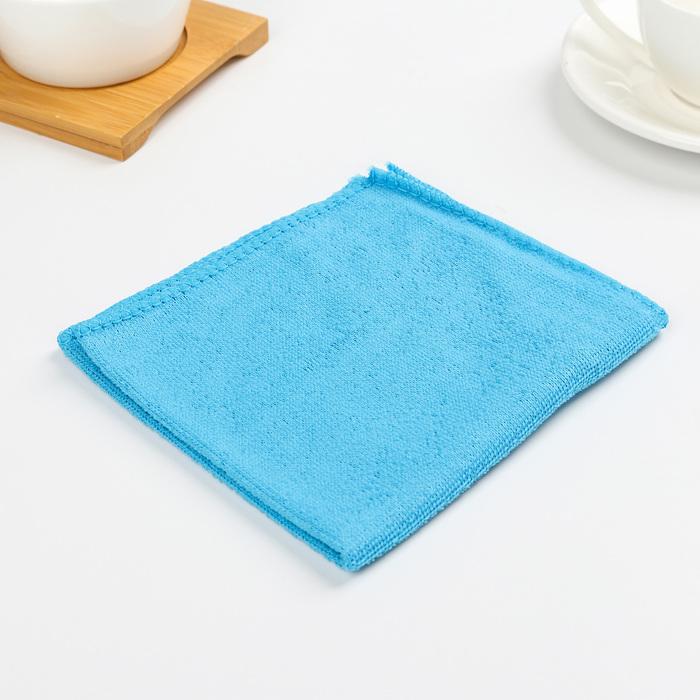 Салфетка для уборки Доляна, 3030 см, 150 гм2, цвет МИКС