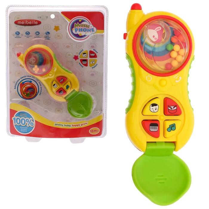 Развивающая игрушка «Музыкальный телефончик», звуковые эффекты