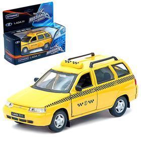 Машина металлическая Lada 111 «Такси», открываются передние двери, инерционная, 1:36 2703 W-RUS