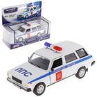 Машина металлическая «Lada 2104. Полиция», масштаб 1:36