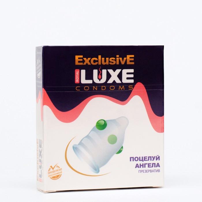 Презервативы «Luxe» Exclusive Поцелуй ангела, 1 шт