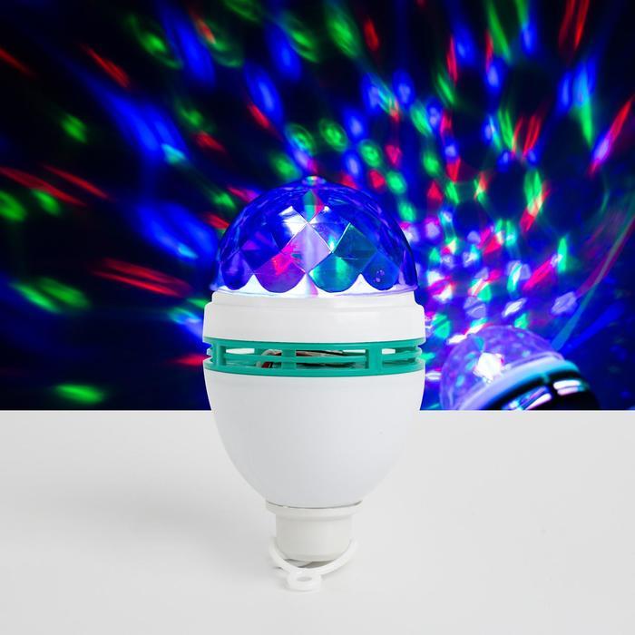 Лампа хрустальный шар d8 см, с подвесом 220V