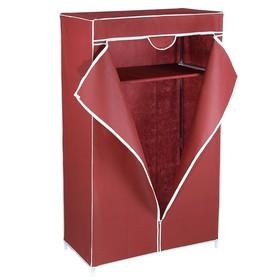 Шкаф для одежды 90×45×145 см, цвет бордовый Ош