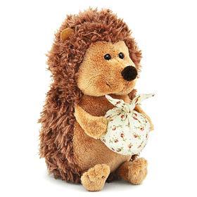 Мягкая игрушка «Ёжик Колюнчик» с узелочком, 15 см
