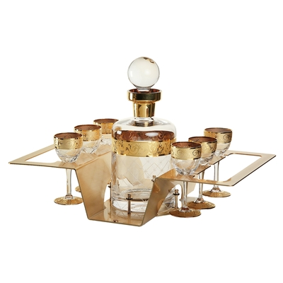 Набор для водки Ouzo (графин 1000 мл, 6 рюмок) - Фото 1
