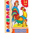 Раскраска для малышей «Домашние животные»