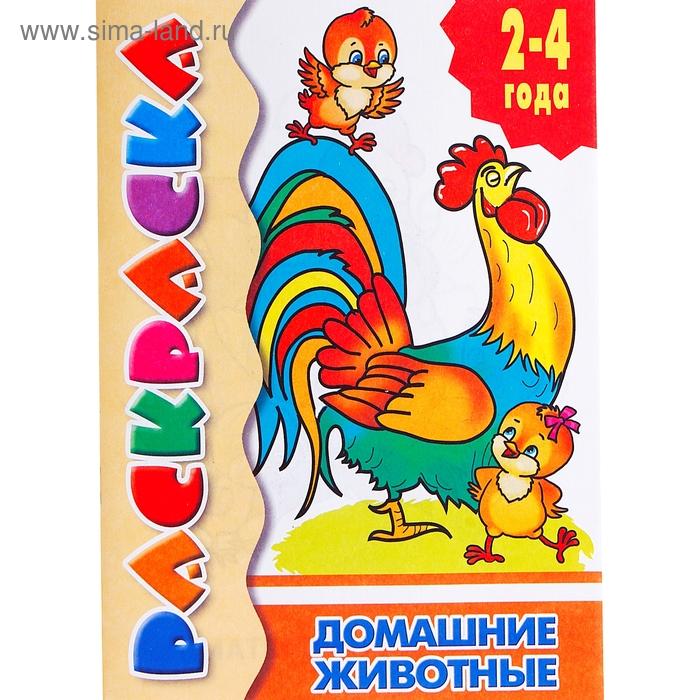 Раскраска для малышей «Домашние животные» (1016692 ...