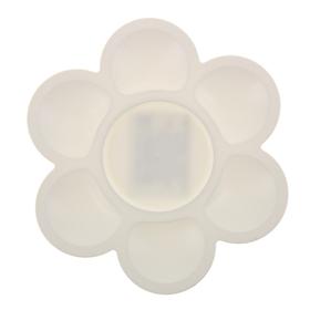 Палитра «Цветочек», белая Ош