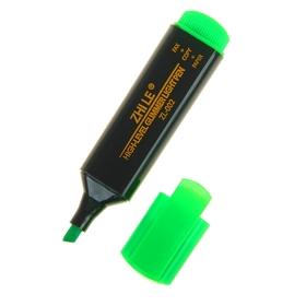 Маркер-текстовыделитель, 5 мм, Zhile, зелёный Ош