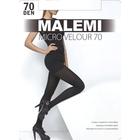 Колготки женские MALEMI Micro Velour 70 цвет чёрный (nero), р-р 3