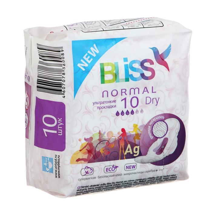 Прокладки «Bliss» Normal Dry, 10шт