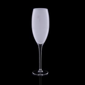 """Бокал для шампанского """"Мечта"""", белый, 330мл"""