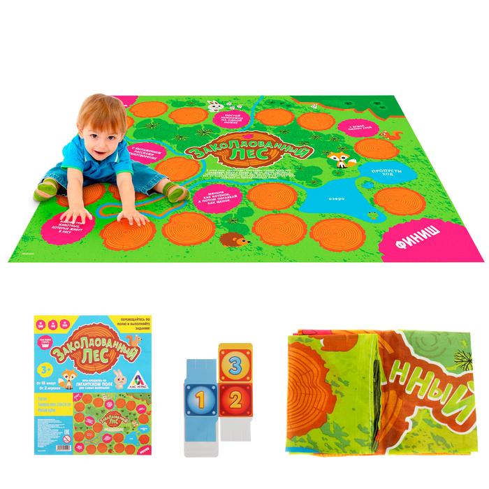 Подвижная игра-бродилка «Заколдованный лес» с текстильным полем