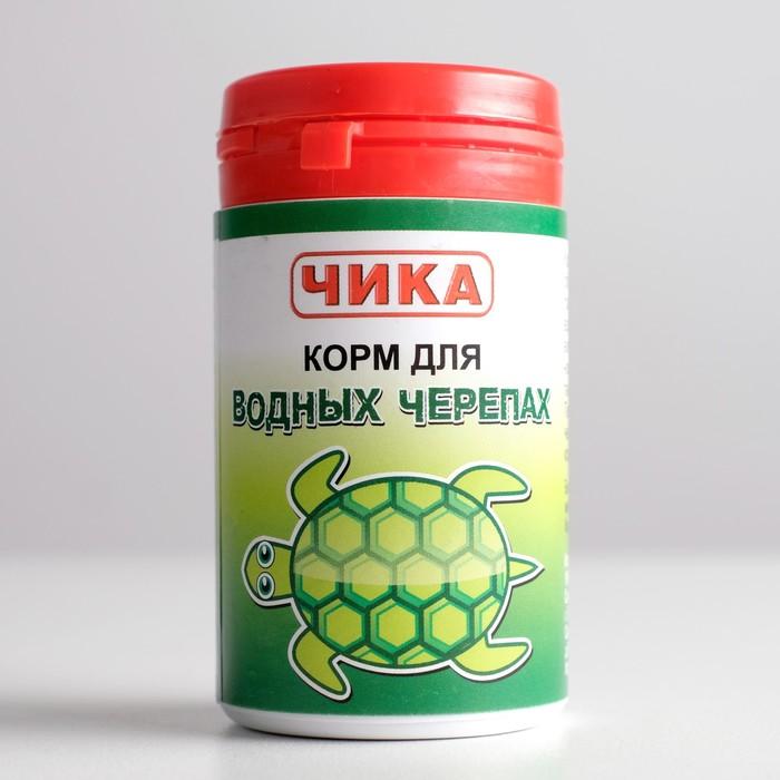 "Корм ""Чика"" для водных черепах, банка, 85 мл"