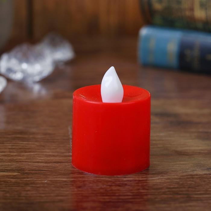 Свеча светодиодная Романтик, 2 цвета