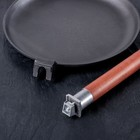 Сковорода блинная, d=22 см, съёмная ручка - Фото 6