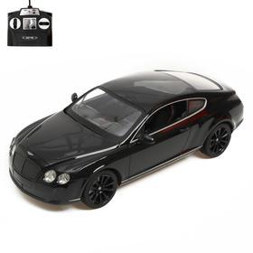"""Машина на радиоуправлении """"Bentley Continental"""", масштаб 1:14, МИКС"""