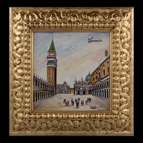 Картина керамическая 'Венеция. Площадь Сан-Марко' Ош