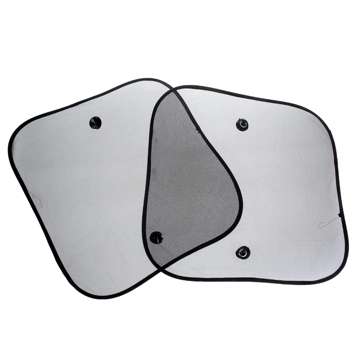 Шторки солнцезащитные TORSO для авто на присосках, 3644 см, набор 2 шт