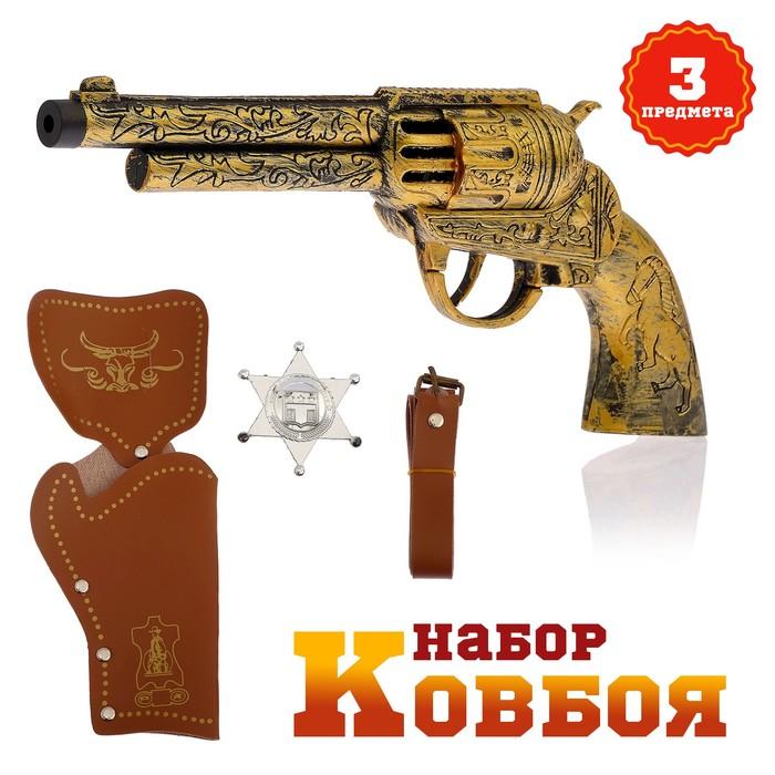 Набор ковбоя «Дикий запад», МИКС