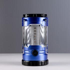 Фонарь переносной с компасом, 2 типа освещения, 9 LED, регулировка яркости, микс, 11х20 см Ош