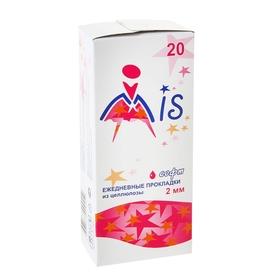 Прокладки ежедневные «Mis» целлюлоза Soft, 20 шт/уп Ош