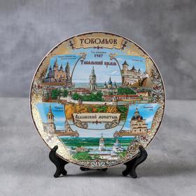 Тарелка сувенирная «Тобольск», d=20 см Ош