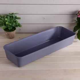 Ящик для рассады, 53 × 18,5 × 9 см, цвет МИКС