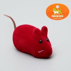 Мышь бархатная, 6 см, микс цветов Ош