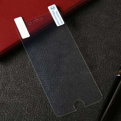"""Защитная пленка LuazON, для iPhone 6 Plus/6S Plus, 5.5"""", 0.26 мм прозрачная"""