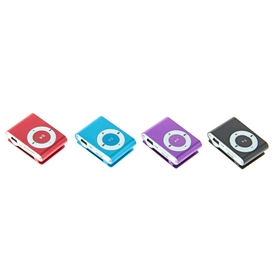 MP3-плеер Luazon LMP-03, АКБ, MicroSD, MiniUSB 5pin, МИКС Ош