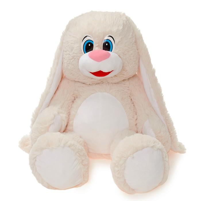 Мягкая игрушка Зайчонок, цвет молочный