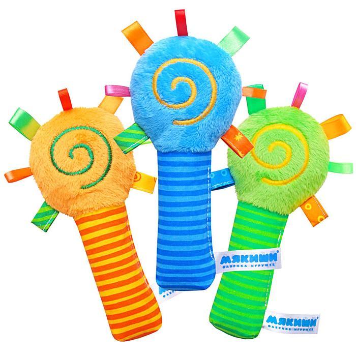 Игрушка-погремушка «ШуМякиши Маракас», цвета МИКС