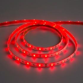 Светодиодная лента 12В, SMD5050, 5 м, IP68, 30 LED, 7.2 Вт/м, 14-16 Лм/1 LED, DC, КРАСНЫЙ