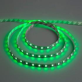 Светодиодная лента 12В, SMD5050, 5 м, IP33, 60 LED, 14.4 Вт/м, 14-16 Лм/1 LED, DC, ЗЕЛЁНЫЙ