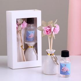 Подарочный набор с аромамаслом 15 мл 'Ваза с цветком', аромат сакура Ош