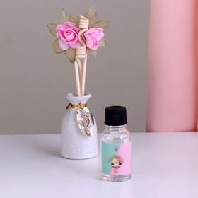 Подарочный набор с аромамаслом 15 мл 'Ваза с цветком', аромат роза Ош