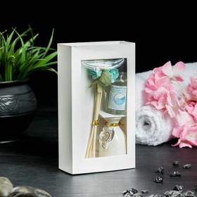 Подарочный набор с аромамаслом 15 мл 'Ваза с цветком', аромат океан Ош