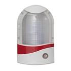 Ночник с датчиком освещенности, 4_LED х 1 Вт, 9 см B (220В) пластик МИКС - Фото 5