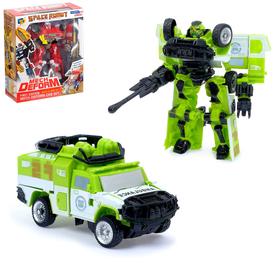 Робот трансформер «Автобот-Спасатель»
