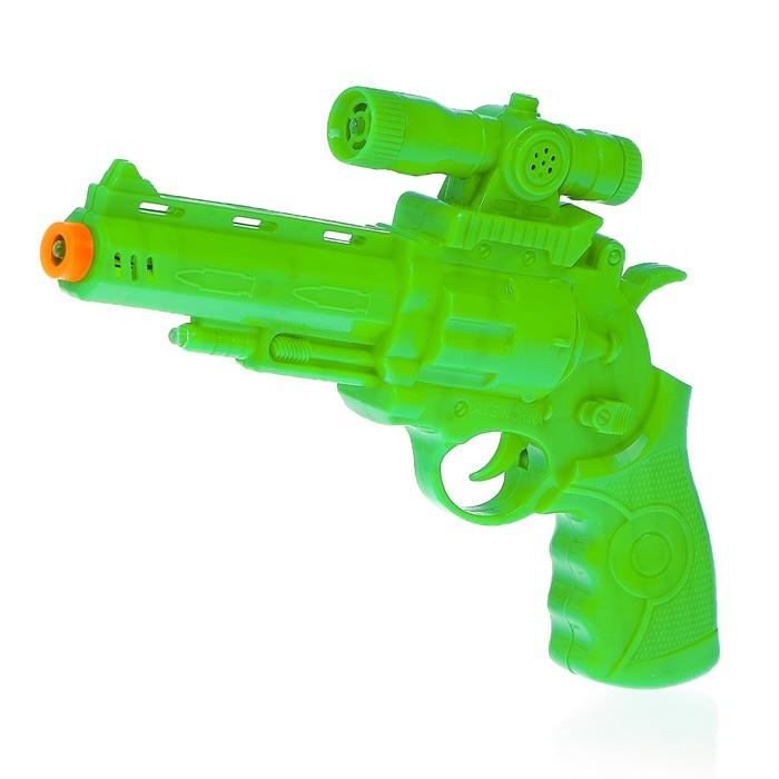 """Пистолет """"Стрелок"""", световые и звуковые эффекты"""