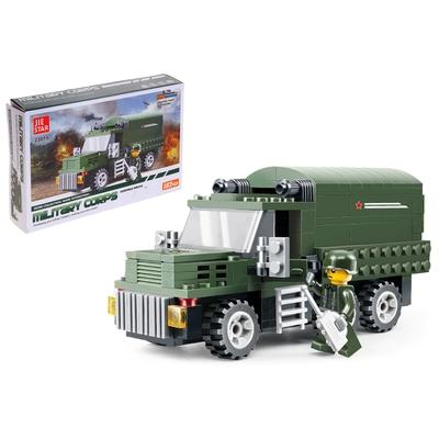 Конструктор Армия «Военный грузовик», 182 детали - Фото 1